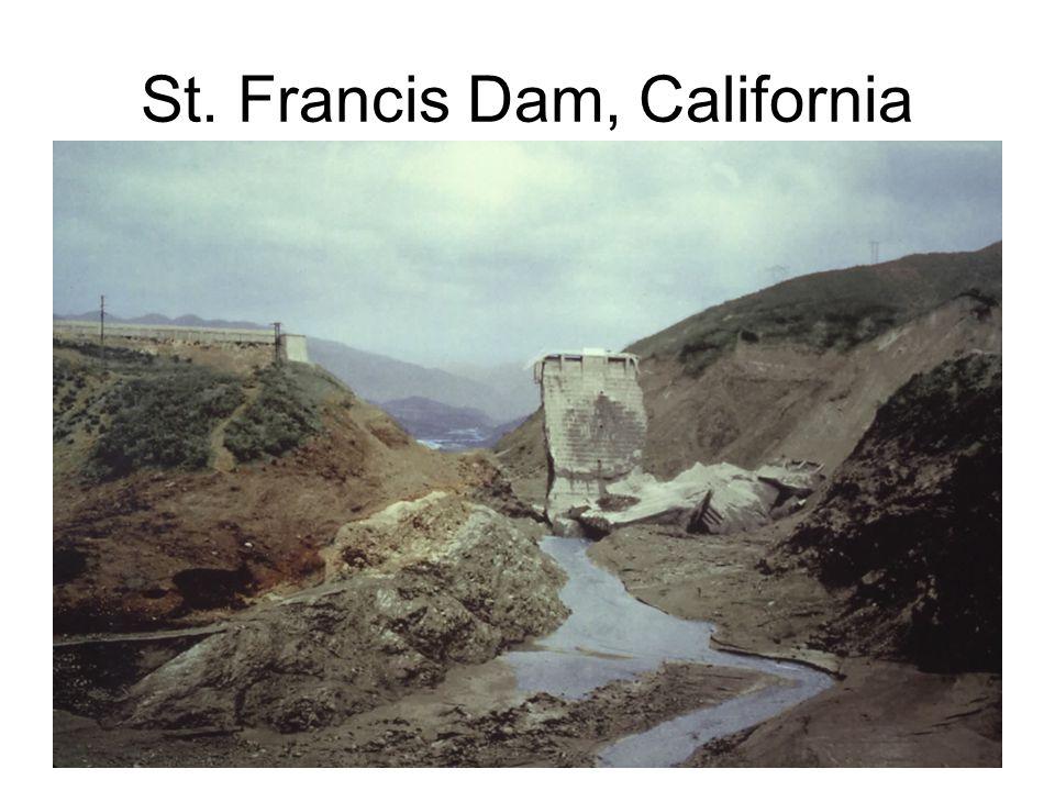 St. Francis Dam, California