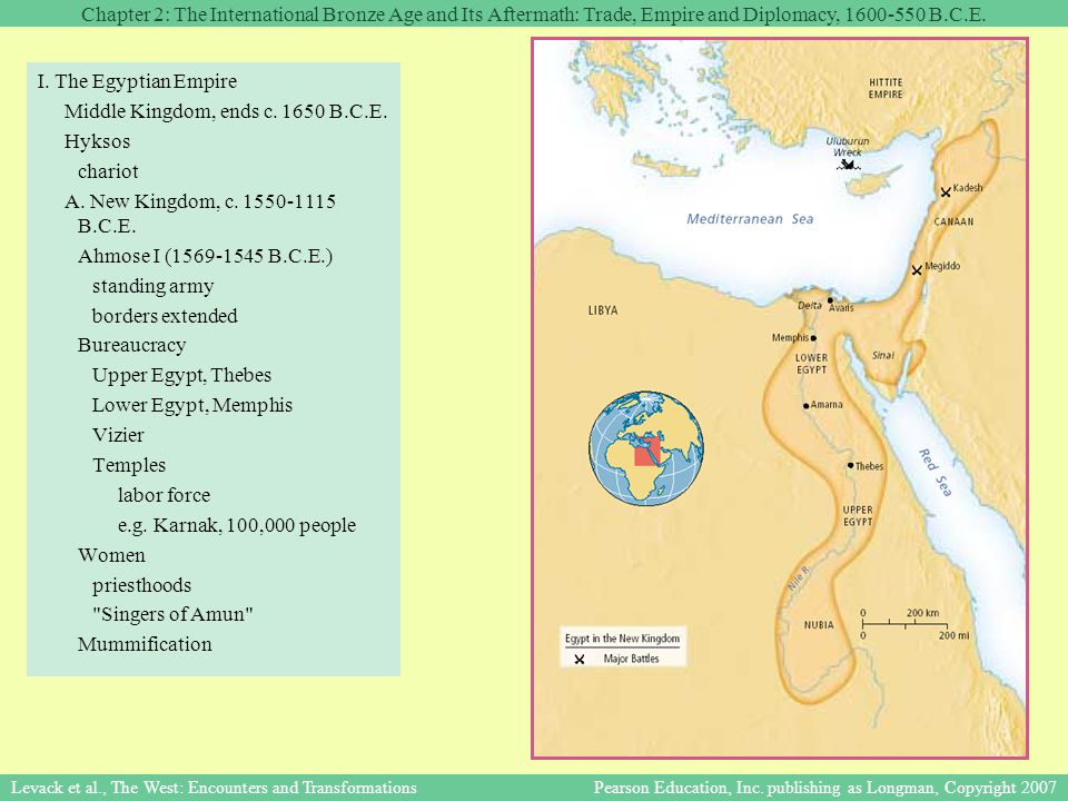 Chapter 2: The International Bronze Age and Its Aftermath: Trade, Empire and Diplomacy, 1600-550 B.C.E.