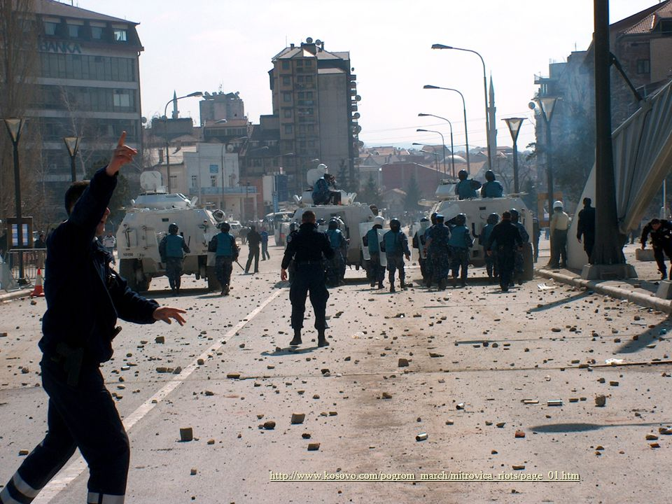 http://www.kosovo.com/pogrom_march/mitrovica_riots/page_01.htm