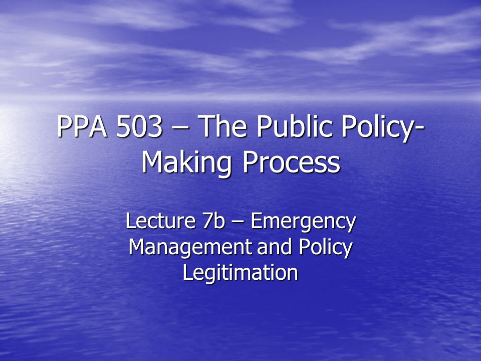 The Post-Katrina Emergency Management Reform Act of 2006  Finally, the Act makes changes to ensure greater flexibility in the delivery of services and assistance during the response and recovery phases of a declared disaster.