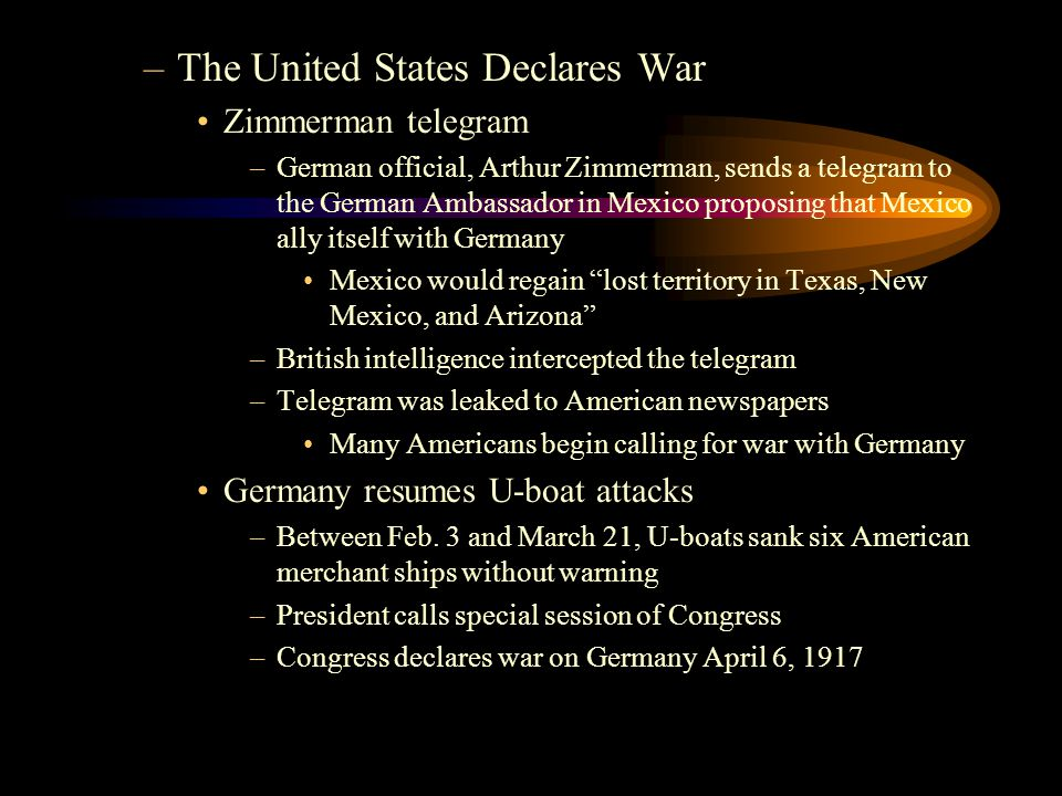 –The Treaty of Versailles Reparations: war damages –$33 MILLION DOLLARS Germany could not possibly pay that Required Germany take full responsibility for war War resulted in the dissolution of four empires: –Russian Empire –Ottoman Empire –German Empire –Austria-Hungary Nine new countries are formed including, Yugoslavia, Poland, and Czechoslovakia
