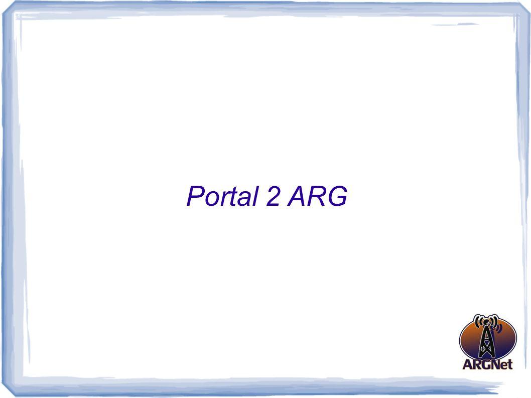 Portal 2 ARG