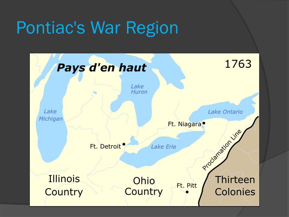 Pontiac s War Region