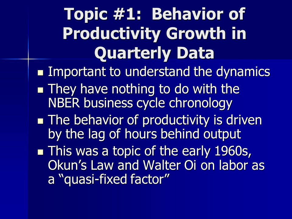 8-quarter Change in NFPB Output and Hours, 1955- 2006