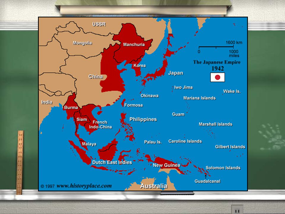 D. Japan Attacks the United States 1. Japanese aggression in Southeast Asia a.