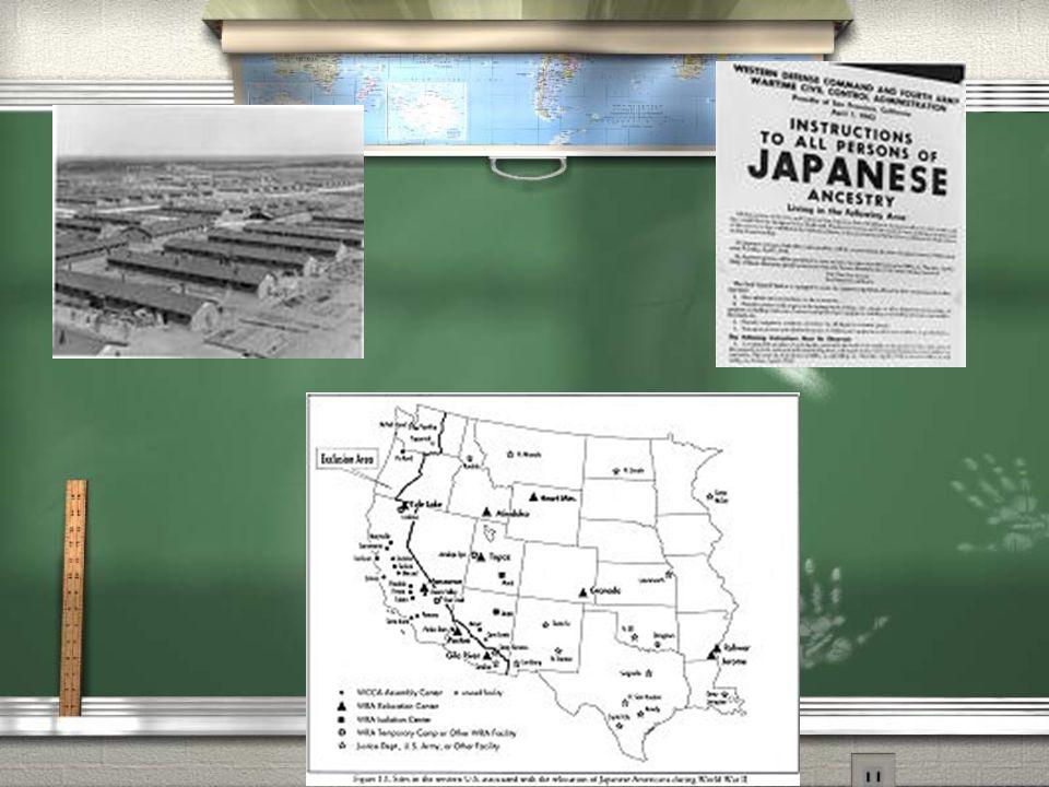 2. Korematsu v. United States, 1944 a. Supreme Court upheld internment b.