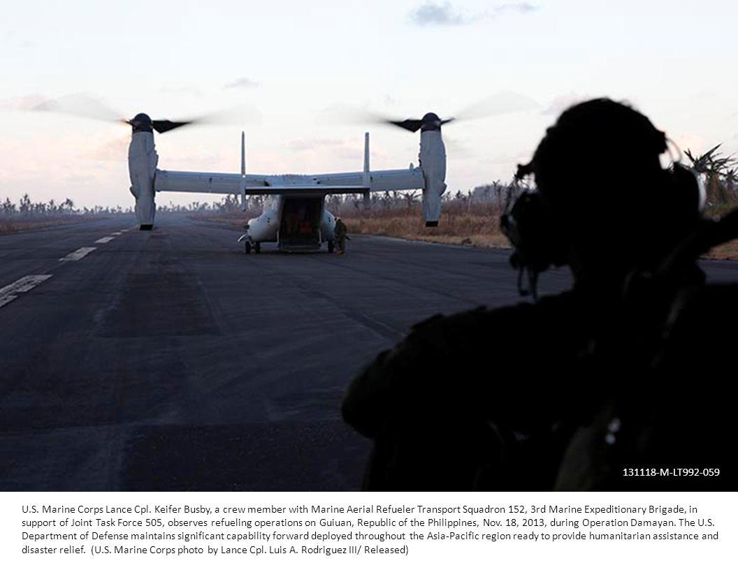 U.S. Marine Corps Lance Cpl.