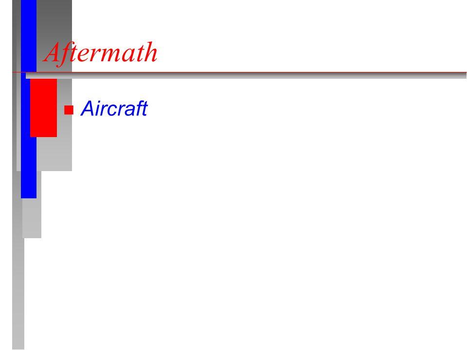 Aftermath n Aircraft