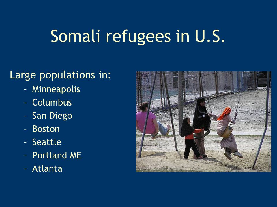 Somali refugees in U.S.