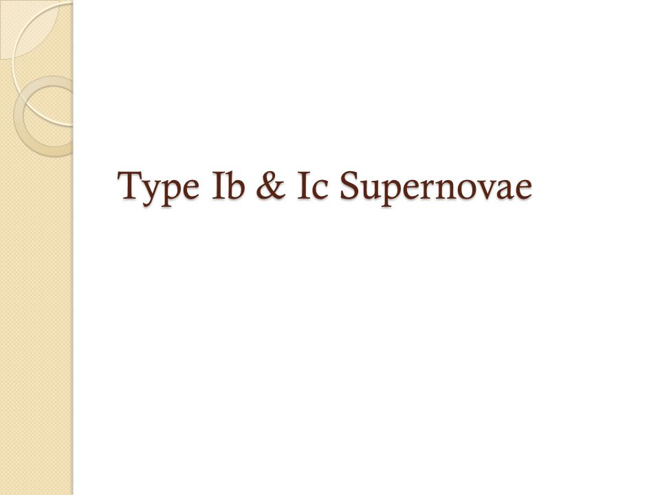 Type Ib & Ic Supernovae