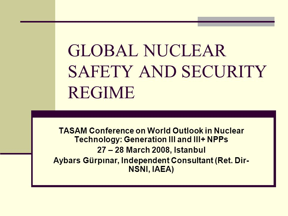 Remaining issues Overconfidence/complacency – countries considered to have good safety culture keep having incidents (USA, France, Germany, Japan, Sweden) Gap in knowledge base – retiring generation not replaced by younger cadres Nuclear Power Plants are robust, but are they resilient??.