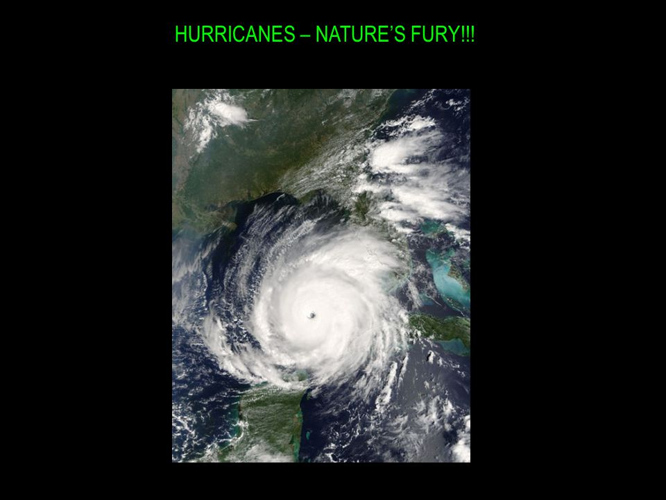 HURRICANES – NATURE'S FURY!!!