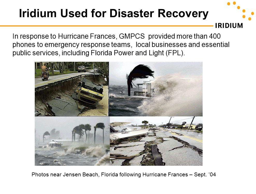 Photos near Jensen Beach, Florida following Hurricane Frances – Sept.