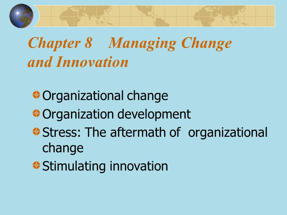 Organization development is an activity designed to facilitate planned, long-term organization-wide change that focuses on the attitudes and values of organizational members; essentially an effort to change an organization ' s culture.