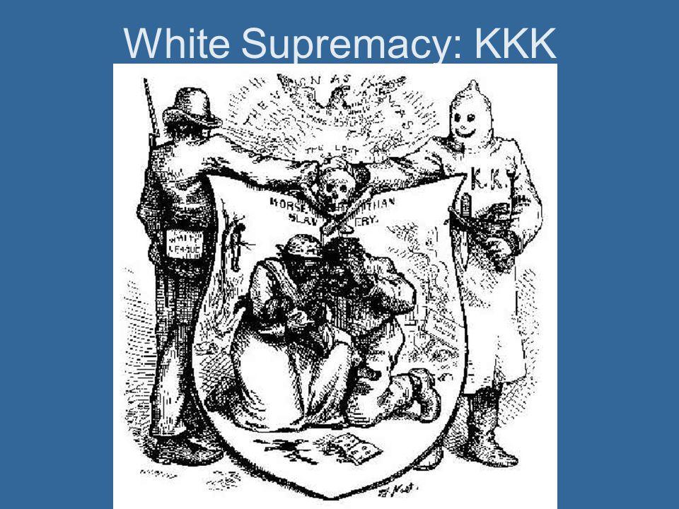 White Supremacy: KKK