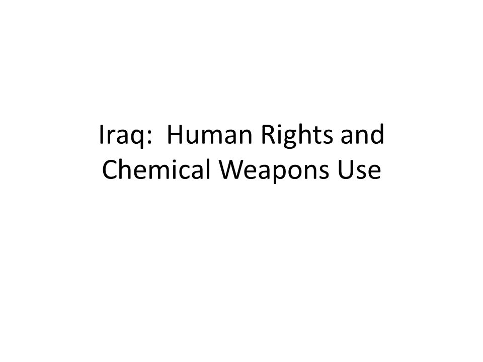 Iran-Iraq War U.S.Skepticism The gassing reports were met with U.S.