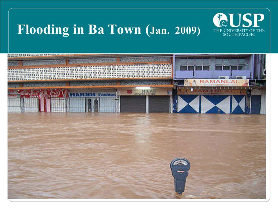 Flooding in Ba Town ( Jan. 2009)