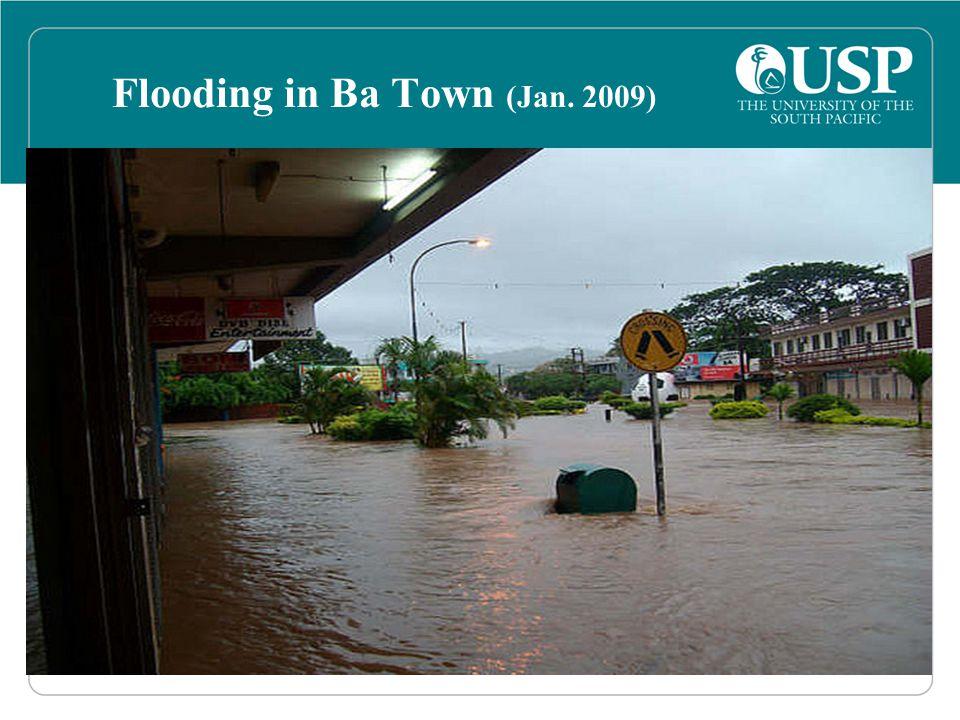 Flooding in Ba Town (Jan. 2009)