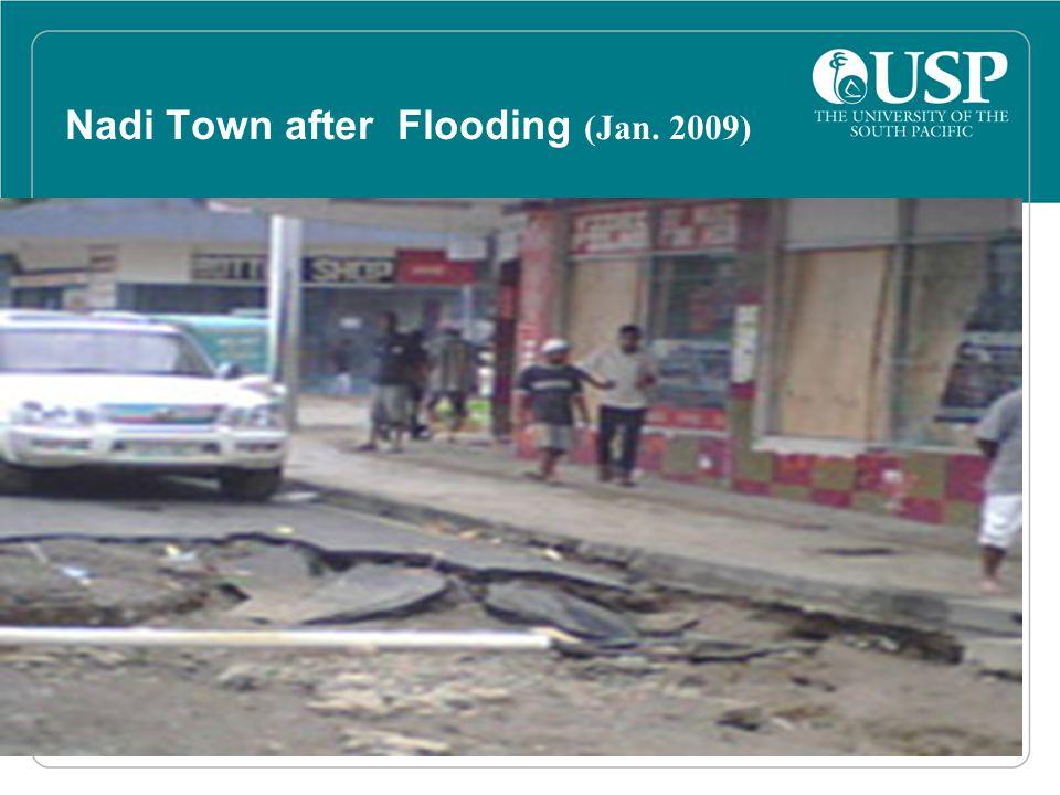 Nadi Town after Flooding (Jan. 2009)