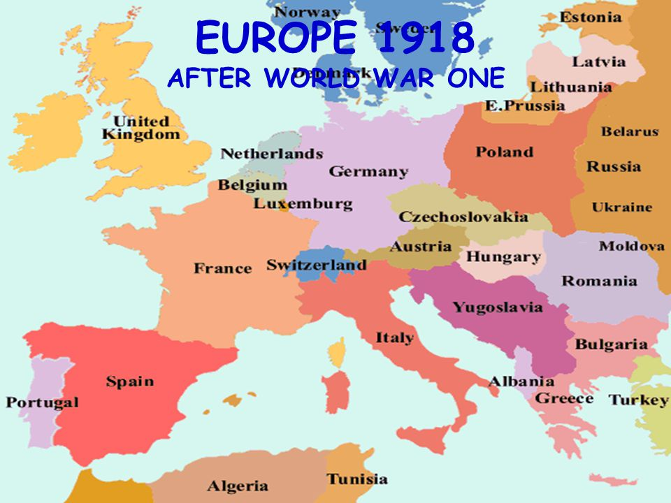 THE HIGH COST OF WAR After Germany signed the armistice on the 11 th of November 1918 new boundaries created new countries based on ethnic and cultural similarities.