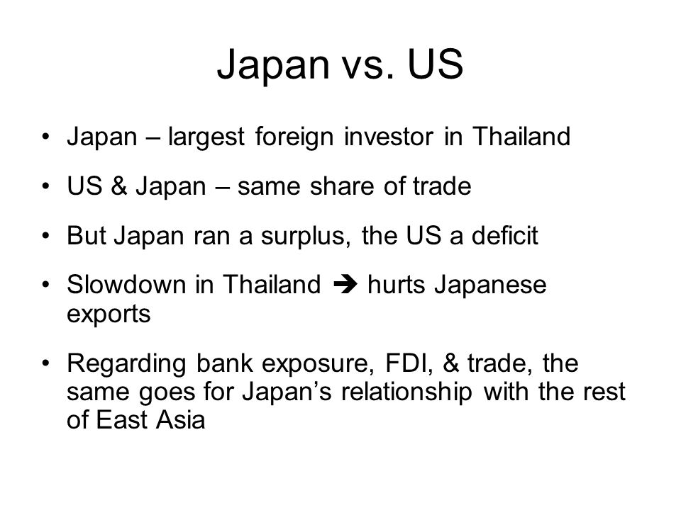 Japan vs.