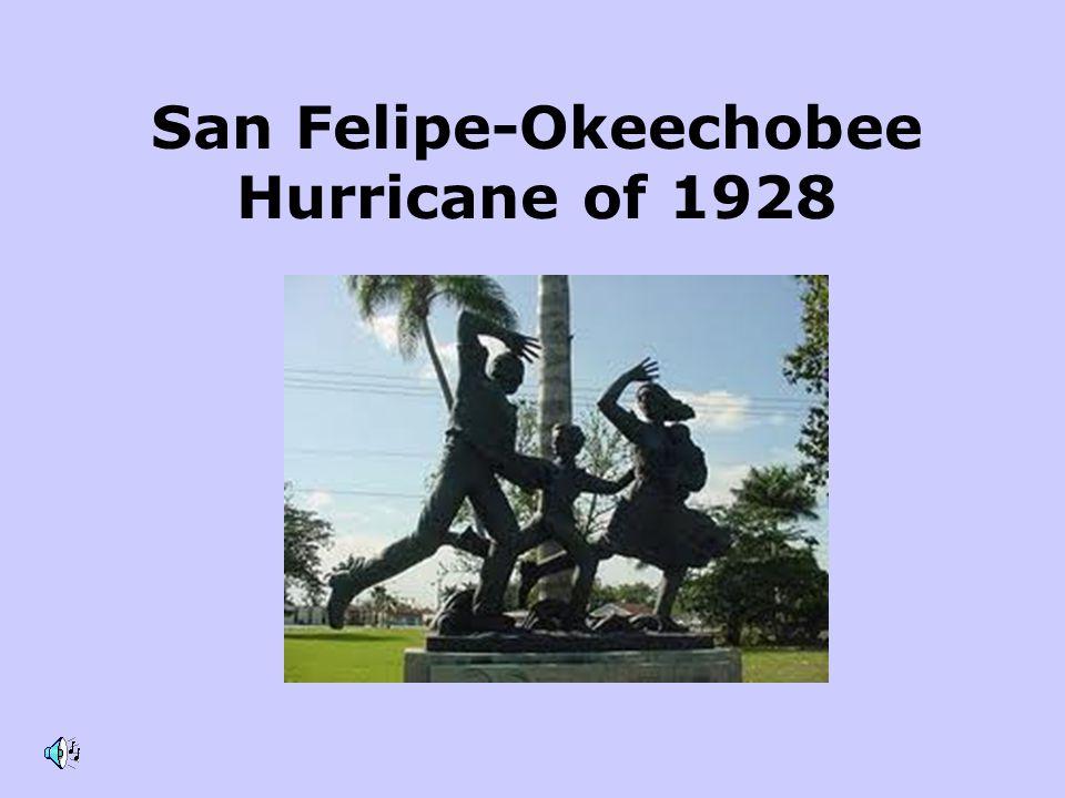 San Felipe-Okeechobee Hurricane of 1928