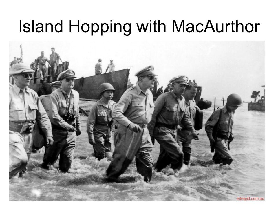 Island Hopping with MacAurthor