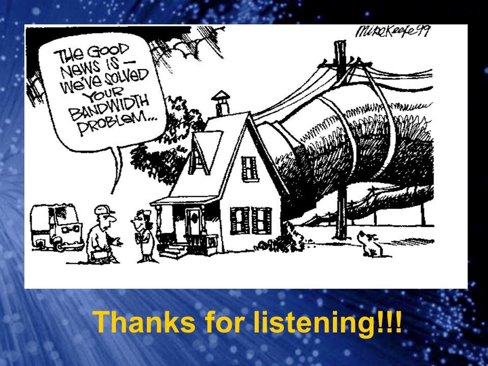 Thanks for listening!!!