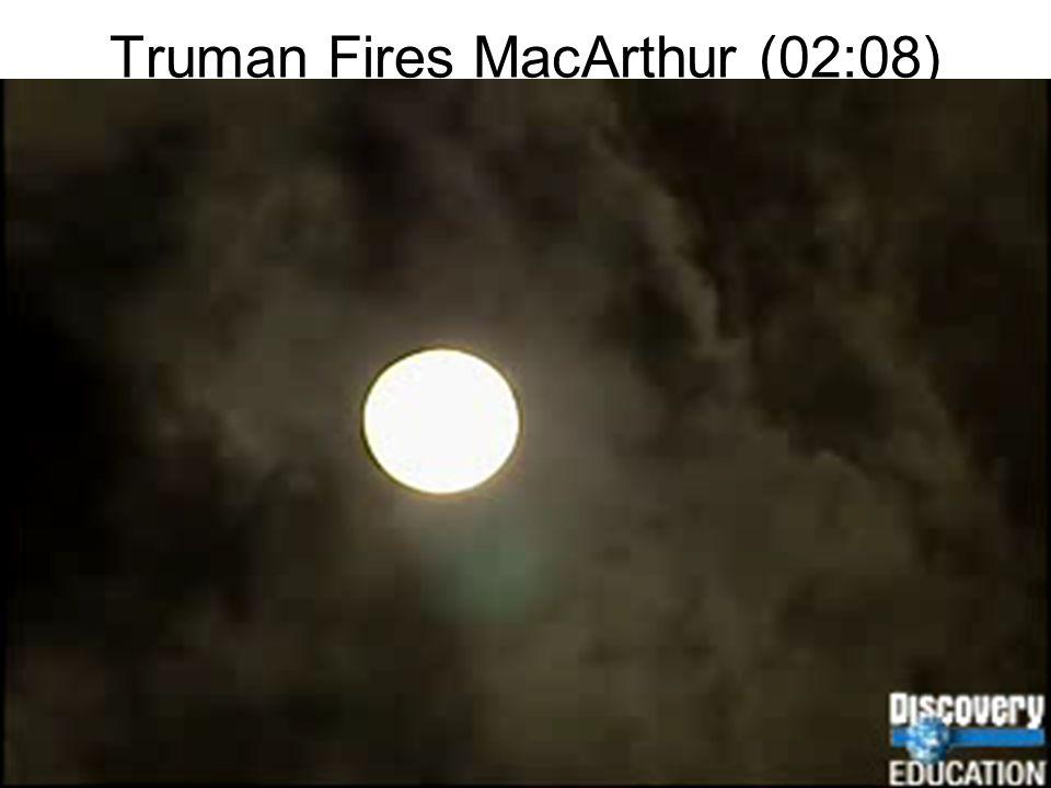 Truman Fires MacArthur (02:08)