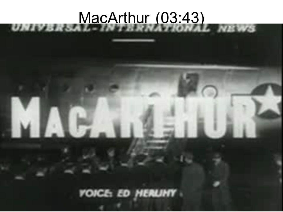 MacArthur (03:43)