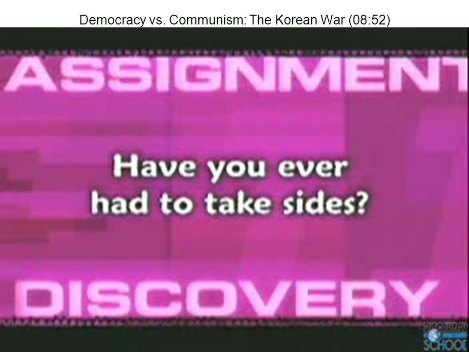 Democracy vs. Communism: The Korean War (08:52)