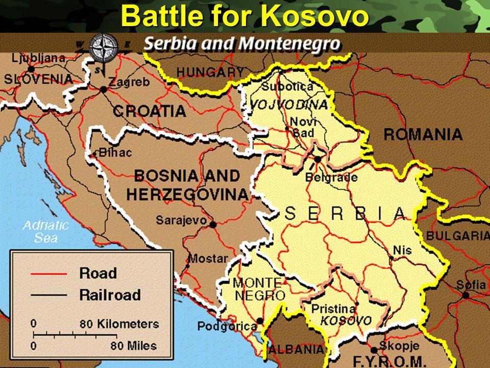 Slide 17 Battle for Kosovo