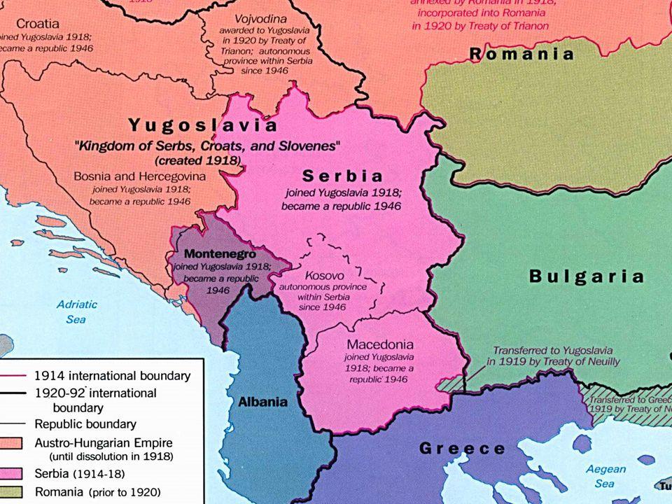 Slide 7 History of Yugoslavia 1.Under Josip Tito, Yugoslavia had strong Communist control 1.