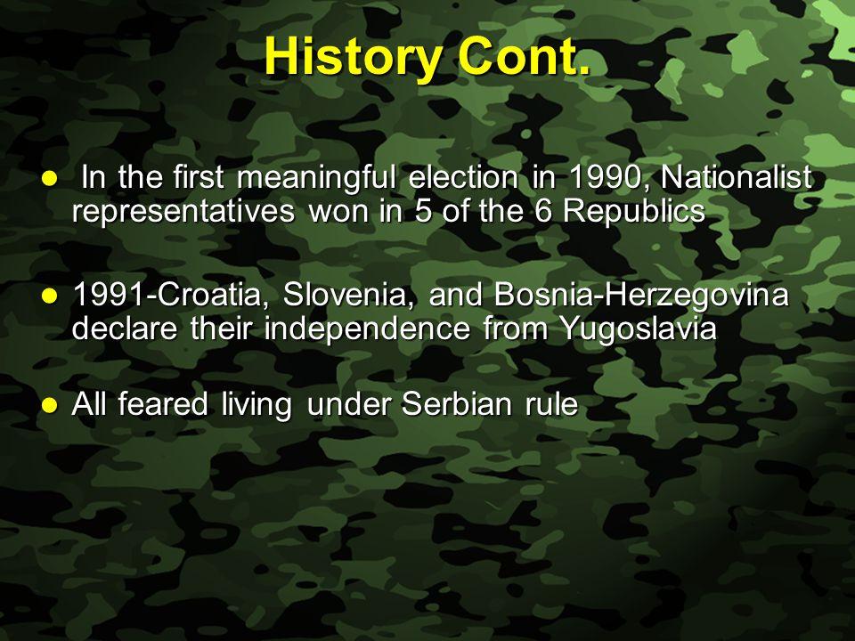 Slide 19 Kosovo Cont.