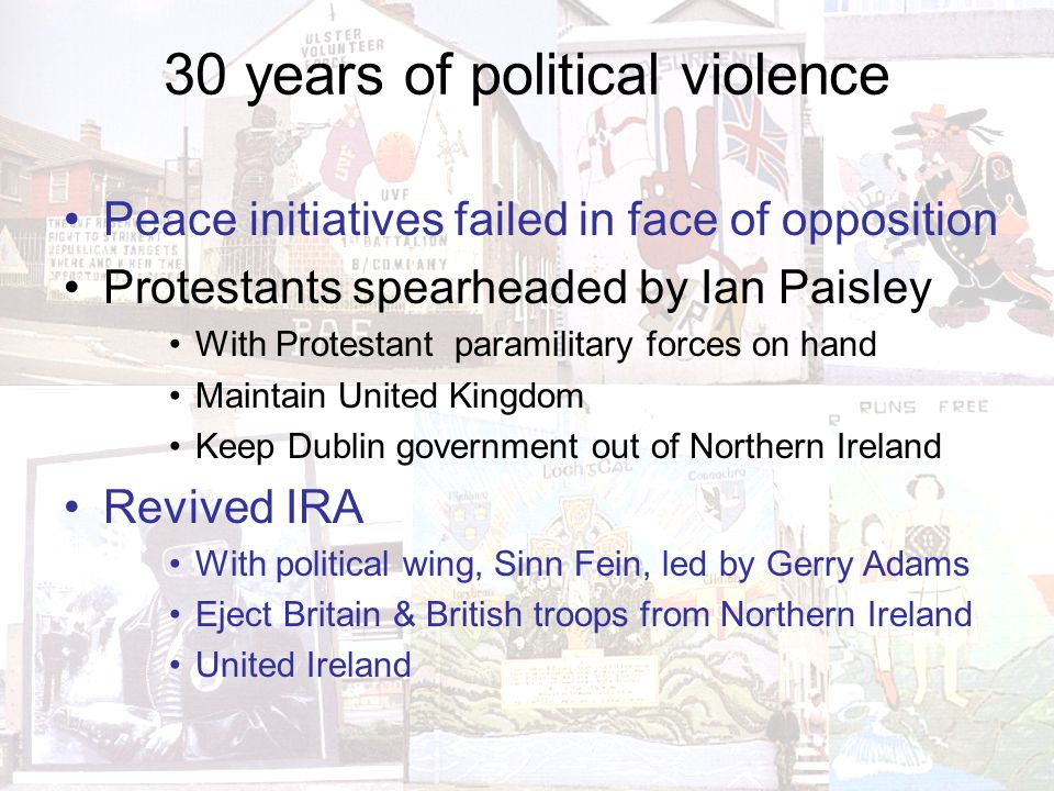 Aftermath 2 Further descent into political violence