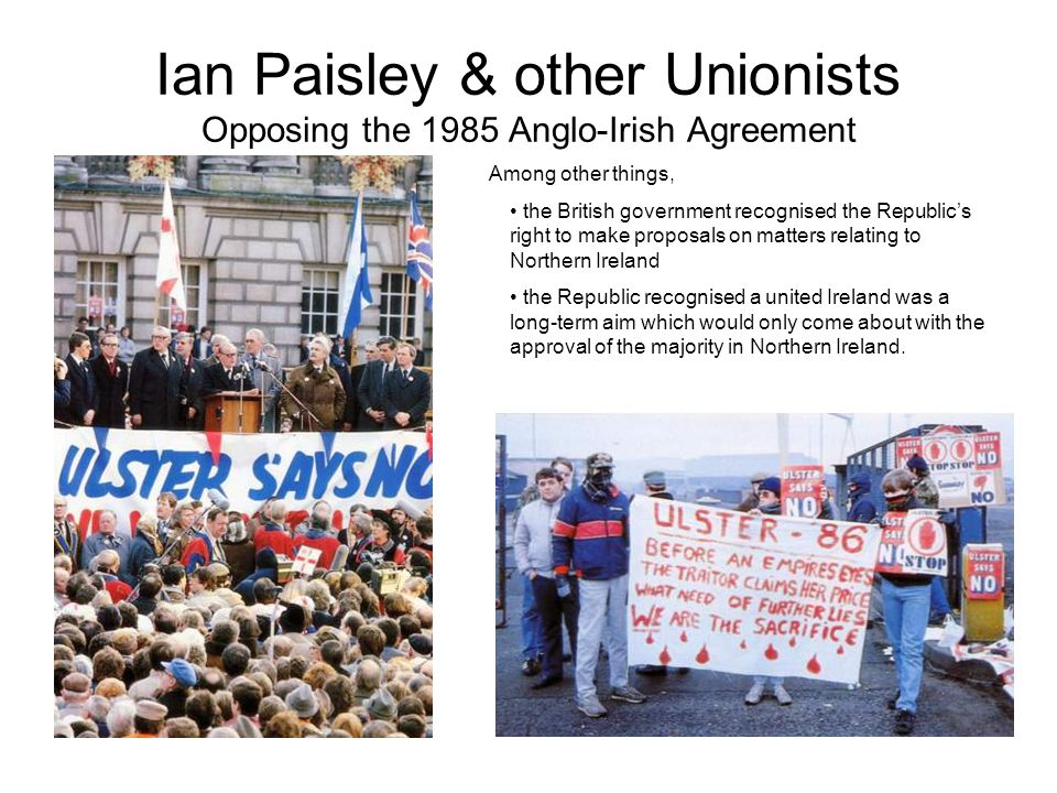 Attempts at a peace settlement Stormont was abolished in 1972. NI was ruled directly from Westminster. Attempts were then made to restore devolved gov
