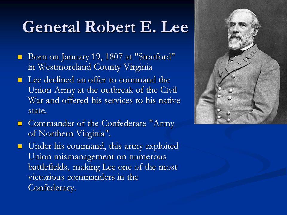 General Robert E.