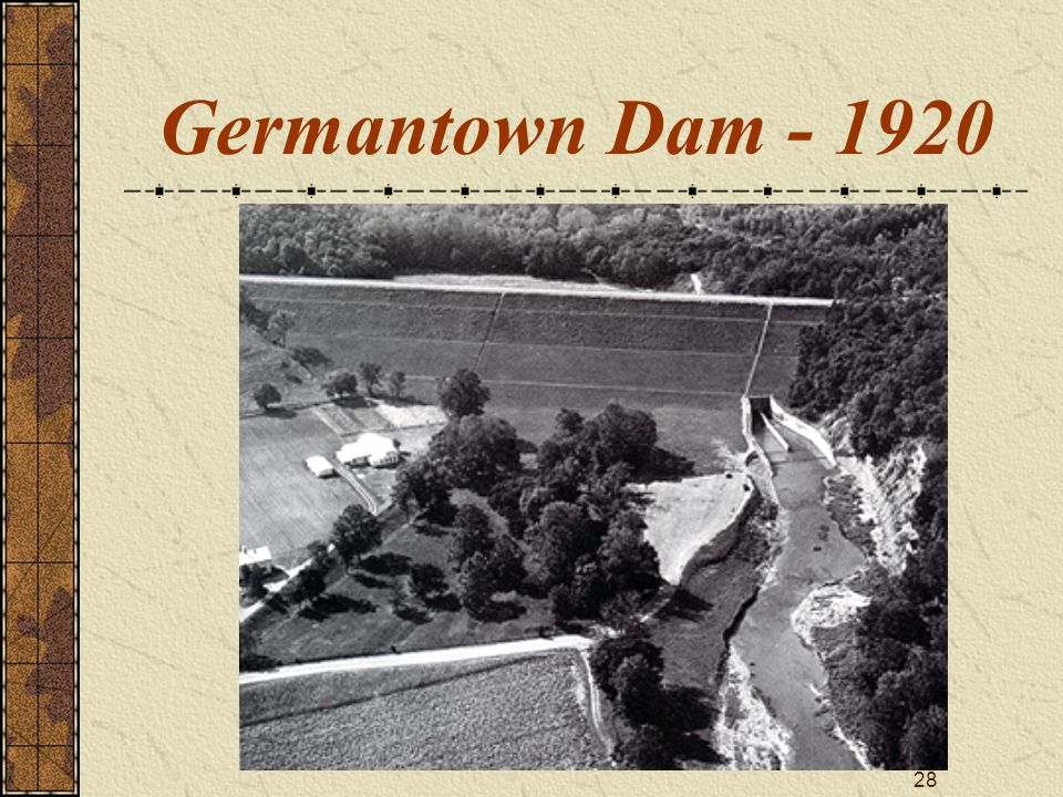 28 Germantown Dam - 1920