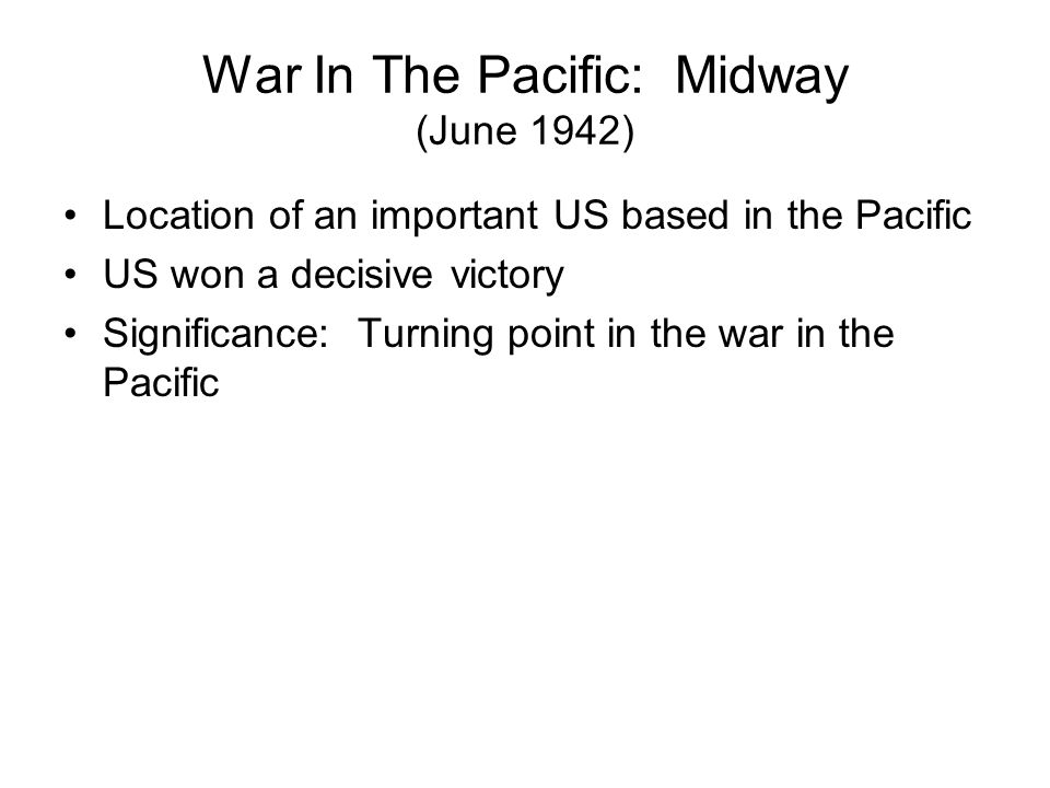 Island Hopping US strategy to defeat Japan. US forces went from Island to Island in the Pacific on their way to the Japanese mainland.