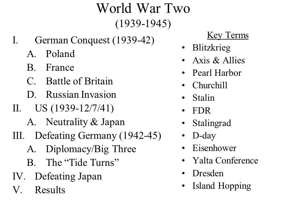 WWII-Deaths CountryMilitary Deaths Civilian Deaths USSR13,000,000? (min) 7,000,000? (min) Germany 3,250,0003,500,000 Poland 125,0006,000,000 Great Bri