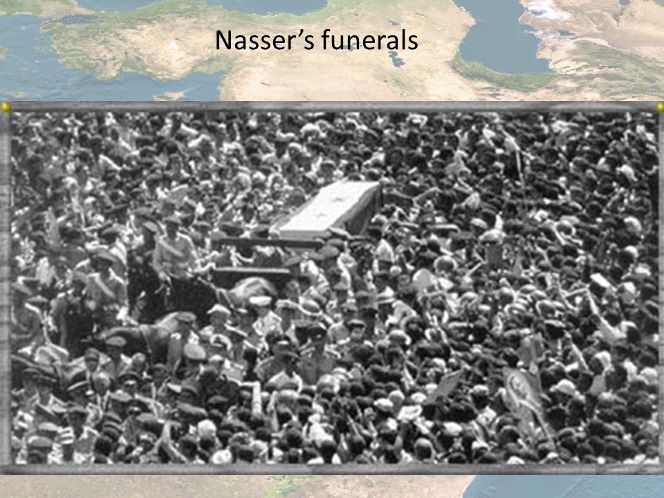 Nasser's funerals