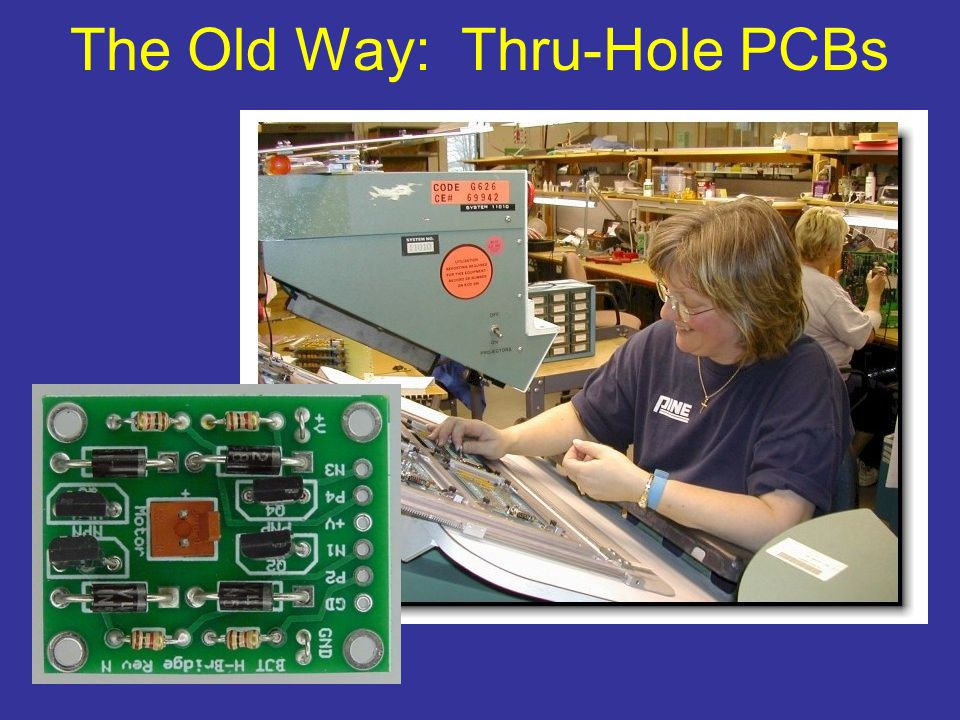 The Old Way: Thru-Hole PCBs