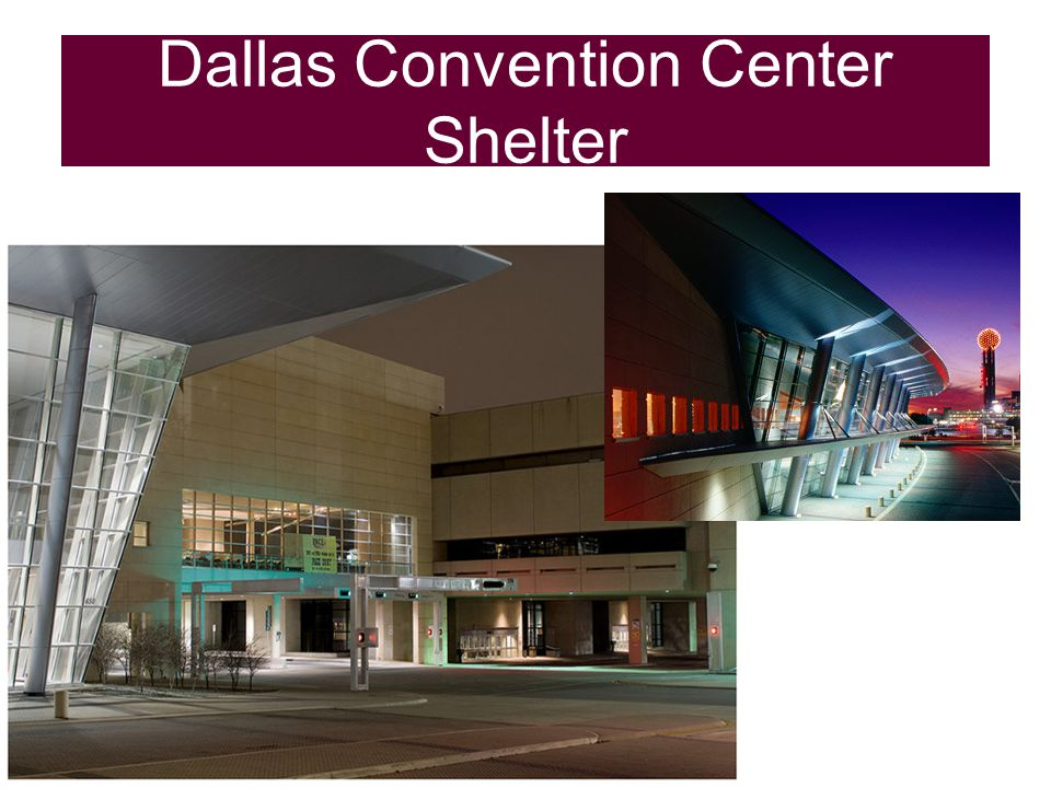 Dallas Convention Center Shelter