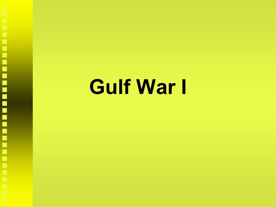 Gulf War I