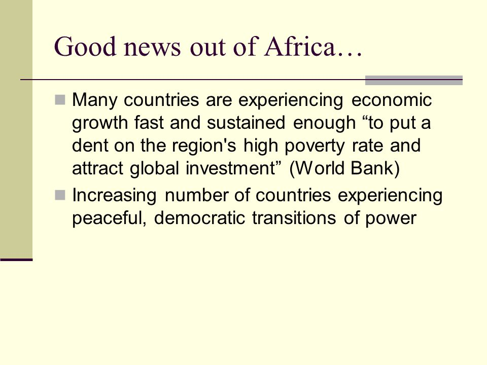Development In Africa Experiences In Countries Emerging From - Countries experiencing poverty