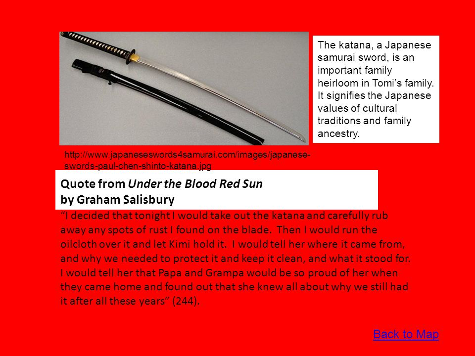In-depth Analysis of Theme in Under the Blood Red Sun by Graham Salisbury Theme, an important literary element, conveys the key messages that the author weaves into the fabric of the book.