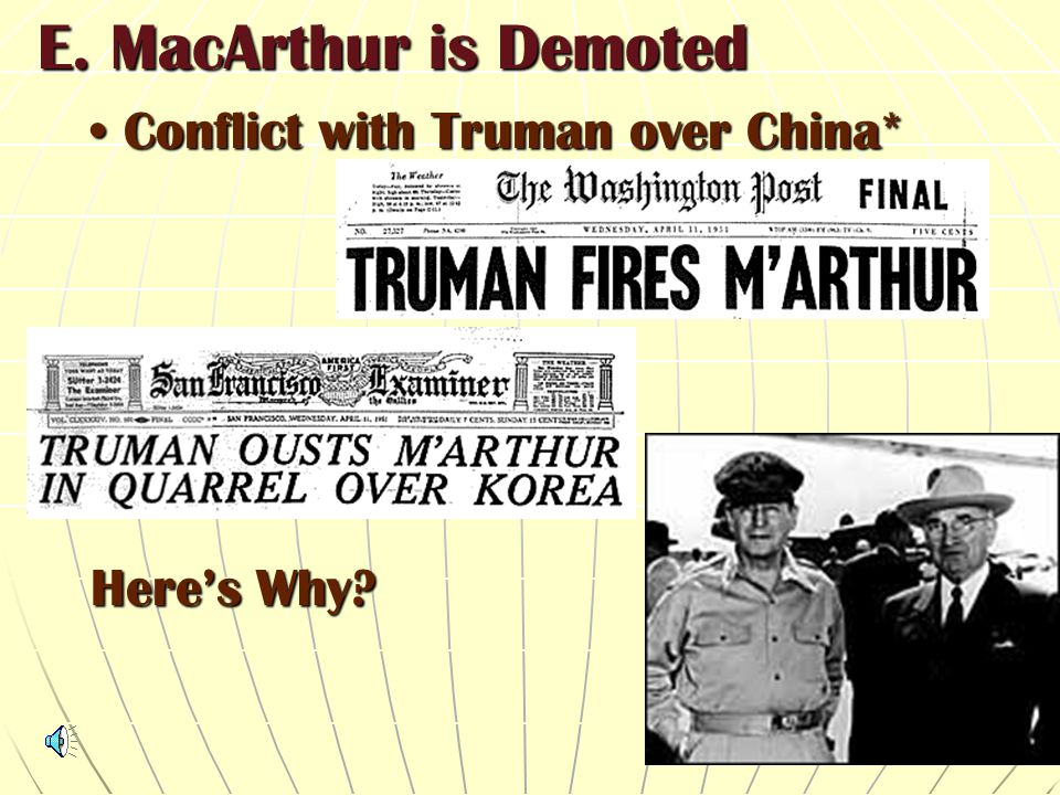 D. In a short period, over 300,000 Chinese were identified. There was an increase in defectors too! US and SK were pushed back, Seoul lost. Return to