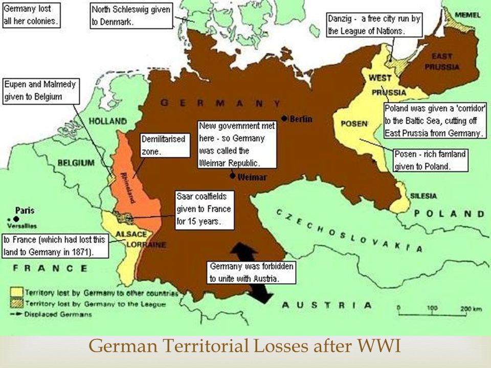  The Allied and Associated Governments affirm and Germany accepts the responsibility of Germany and her allies for causing all the loss and damage to which the Allied and Associated Governments and their nationals have been subjected as a consequence of the war imposed upon them by the aggression of Germany and her allies. The War Guilt Clause