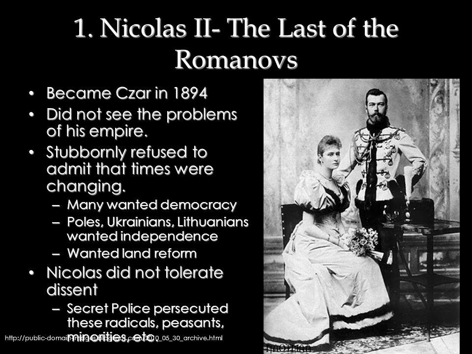 A Brief Intermission: The Russian Revolution Notes