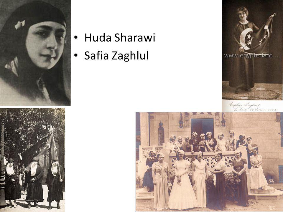 Huda Sharawi Safia Zaghlul